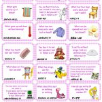 Brain Teasers, Riddles & Puzzles Card Game (Set 2) Worksheet - Free - Free Printable Brain Teasers