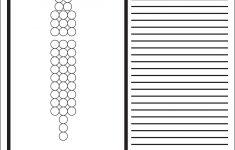 Brick Stitch Bead Patterns Journal: 3 Bead Base Row 3 Drop Blank – Free Printable Beading Patterns