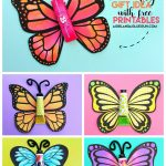 Butterfly Gift With Free Printable. – A Girl And A Glue Gun – Free Printable Butterfly