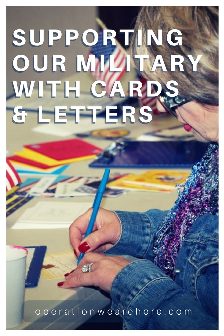 Cards And Letters For Military - Free Printable Military Greeting Cards