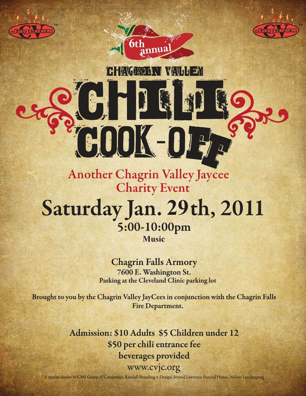 Chili Cook Off Flyer Template Free Printable - Wow - Image - Free Printable Flyers