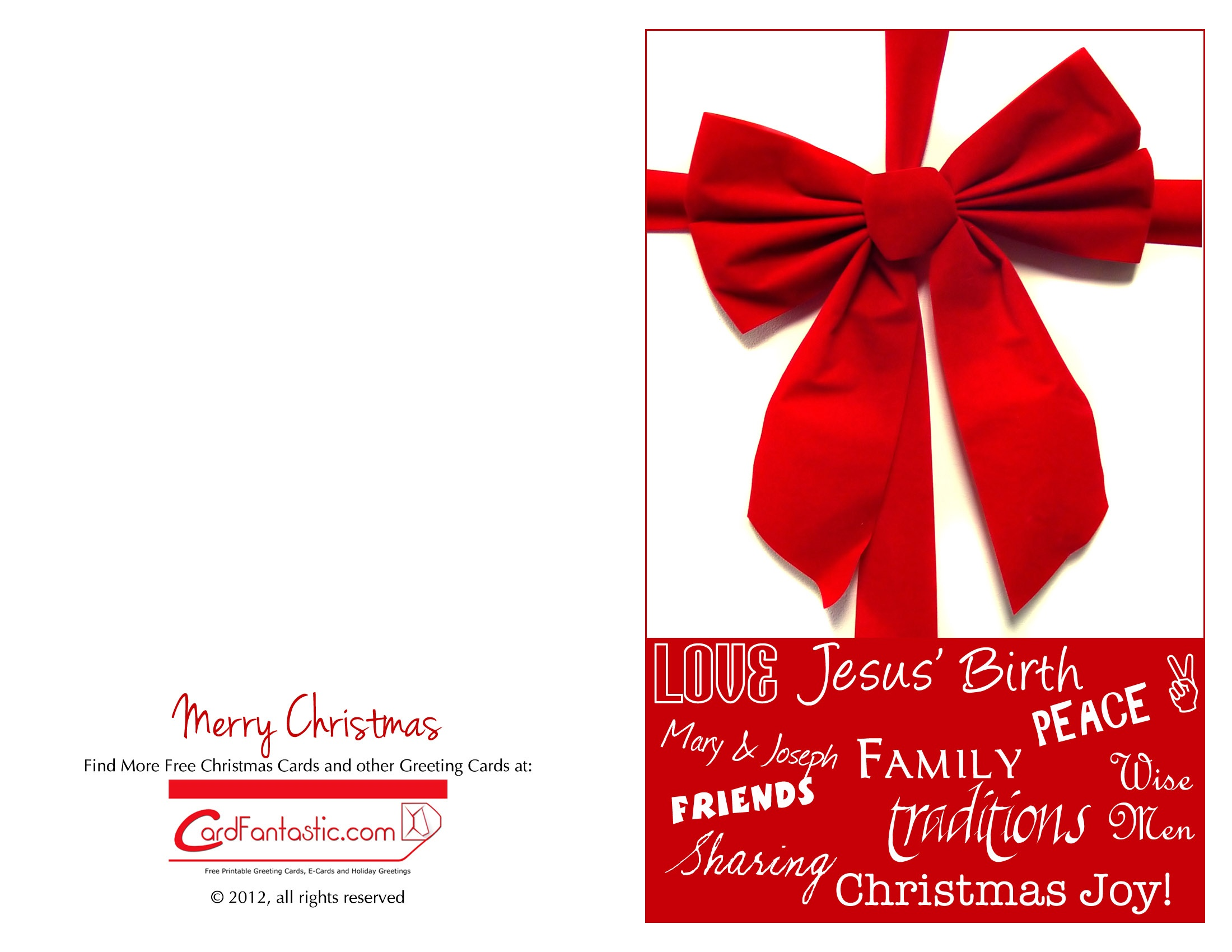 Chirstmas Cards - Download Free Greeting Cards And E-Cards - Christmas Cards Download Free Printable