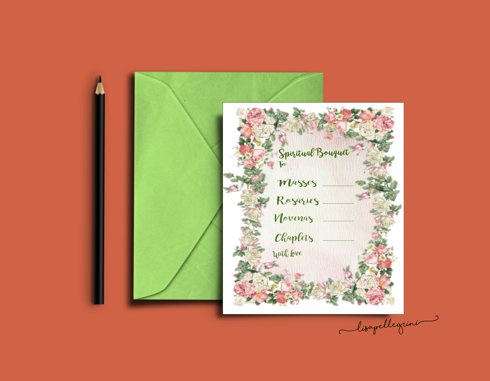 Christian Study Tools: Spiritual Bouquet Gift Card Free Printables - Free Printable Spiritual Gifts Test