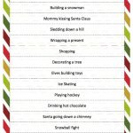 Christmas Charades Game | Church Ideas | Christmas Games, Christmas   Free Printable Religious Christmas Games