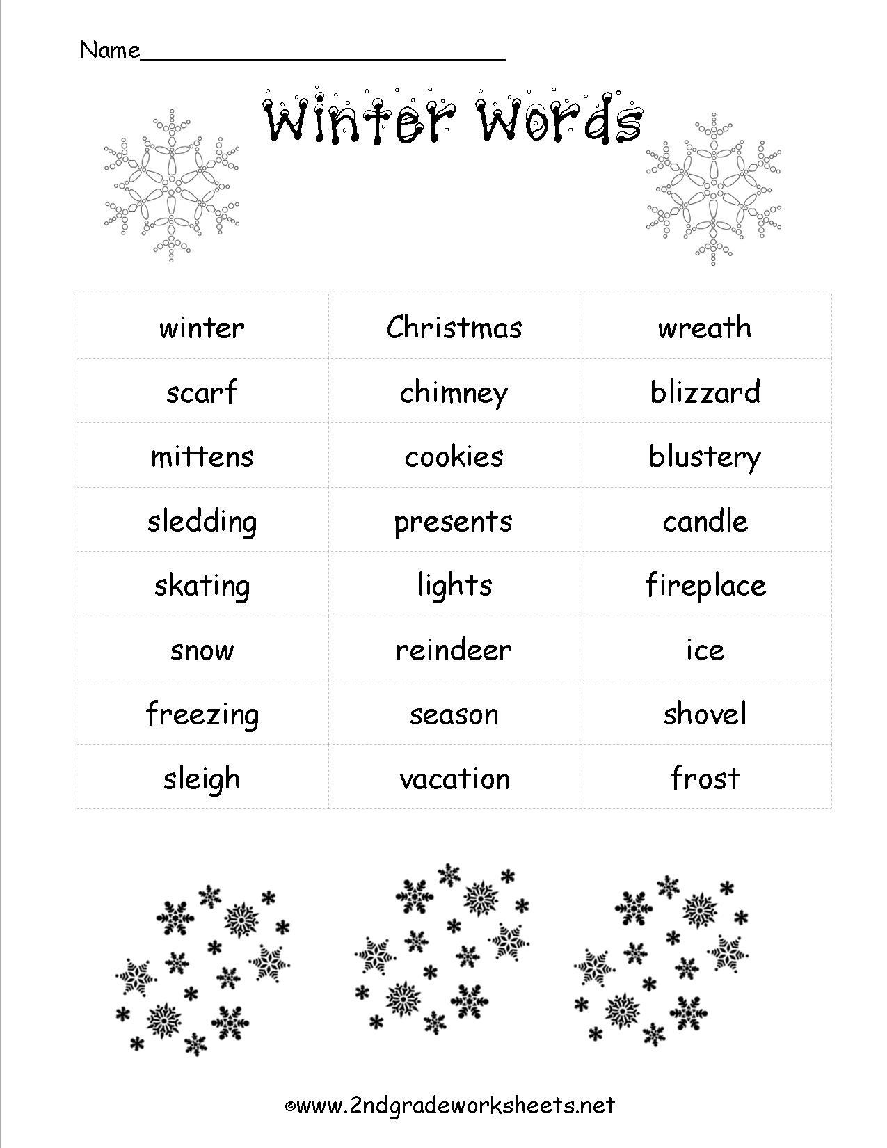 Christmas Worksheets And Printouts - Free Printable Christmas Activities