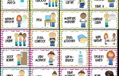 Classroom Jobs Printable | Water Patrol (2), Caboose, Message – Preschool Classroom Helper Labels Free Printable