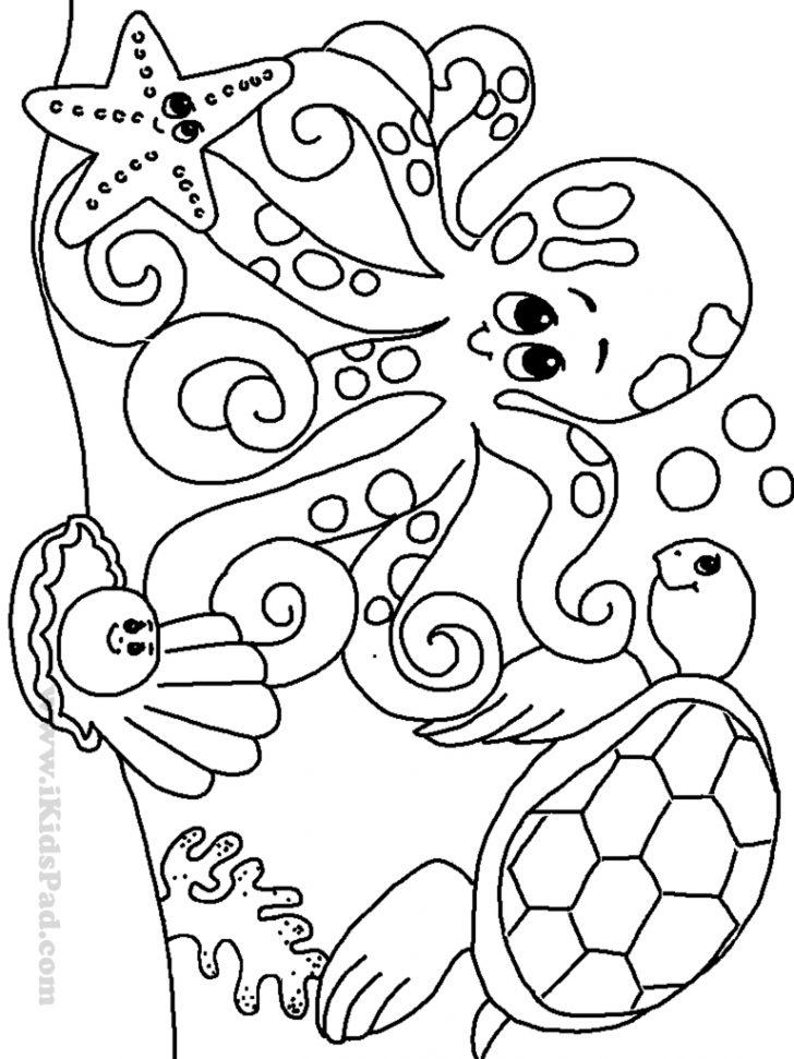 Free Printable Color Sheets For Preschool