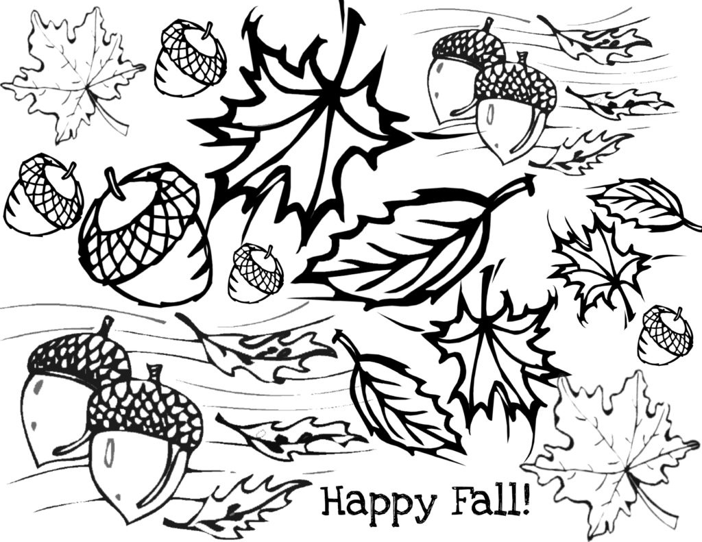 Coloring ~ Free Fall Coloring Pag Simple Autumn Pages For Adults - Free Printable Autumn Coloring Sheets