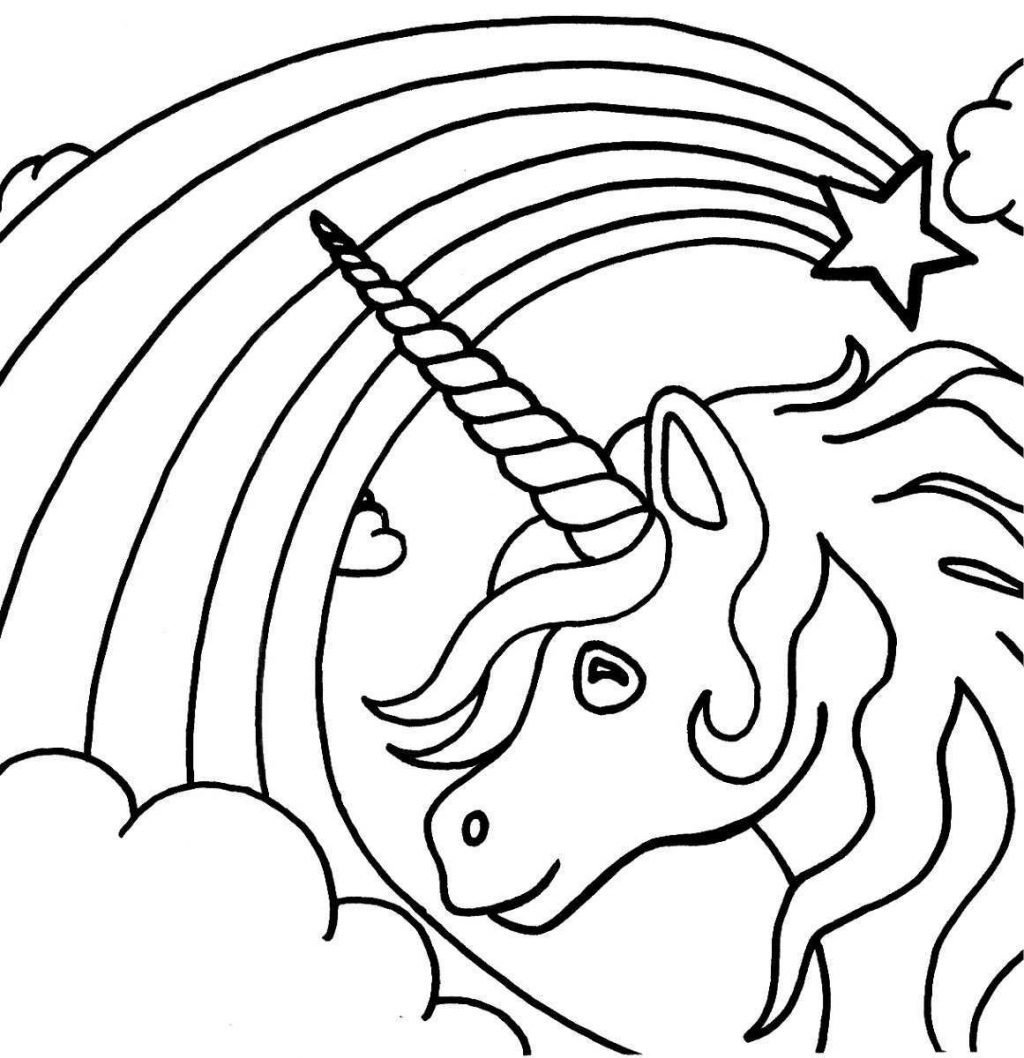 Coloring Ideas : Printable Unicorn Coloring Pages Luxury Colouring - Free Printable Unicorn Coloring Pages