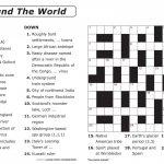Coloring ~ Large Print Crosswordsthomas Joseph Printable   Free Printable Crosswords Medium