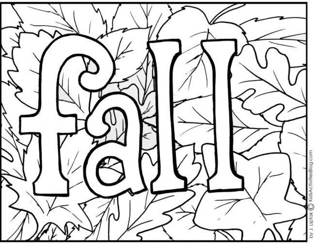 Coloring Page ~ Autumn Coloring Pagesor Preschoolers Wiring - Free Printable Autumn Coloring Sheets