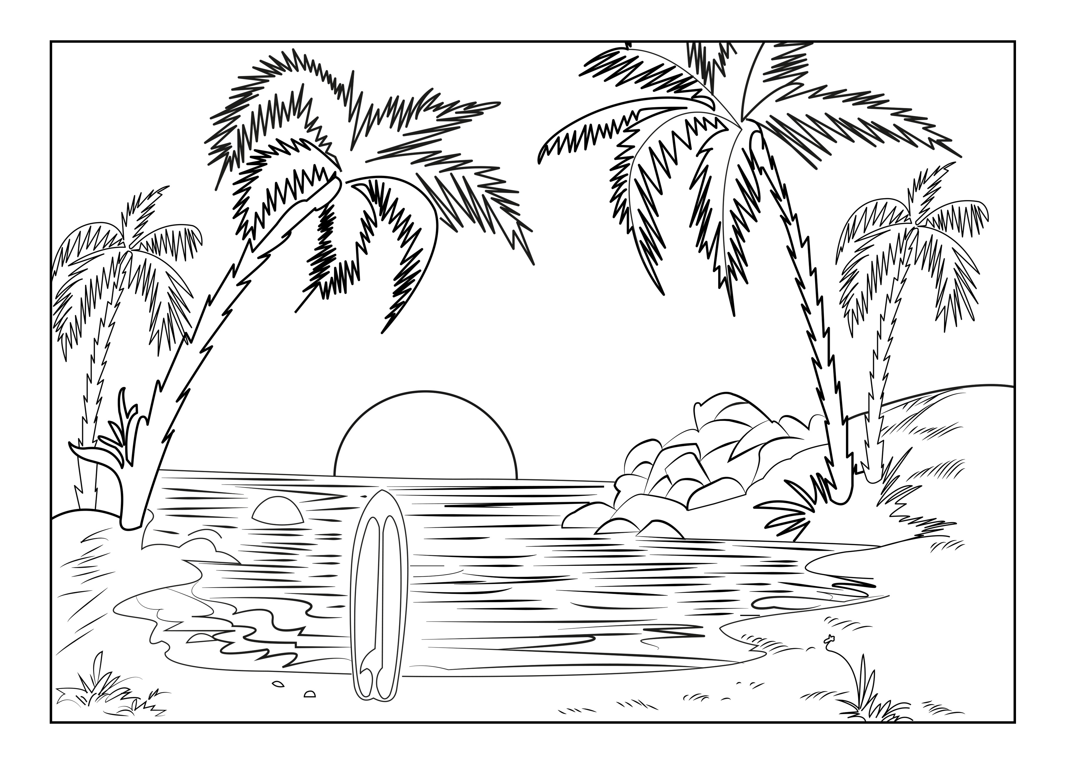 Coloring Page ~ Free Printable Natureing Pages For Adults Nice - Free Printable Nature Coloring Pages