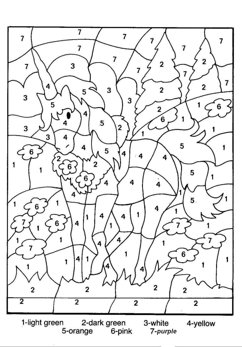 Coloring Pages Ideas: Outstanding Colornumber Coloring Pages - Free Printable Christmas Color By Number Coloring Pages