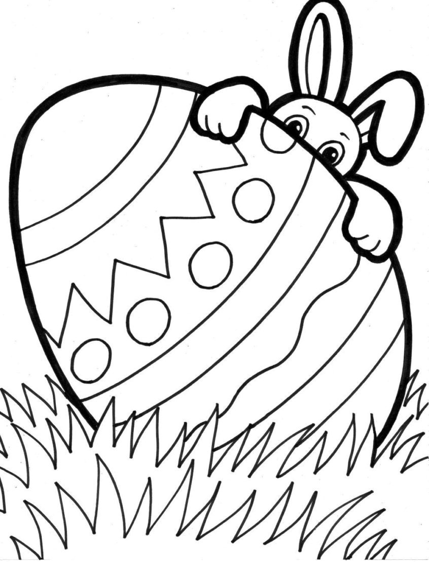 Coloring Pages Ideas: Printableaster Drawings Download Them Or Print - Free Printable Easter Drawings
