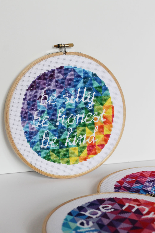 Cross Stitch Ideas - Sugar Bee Crafts - Free Printable Modern Cross Stitch Patterns