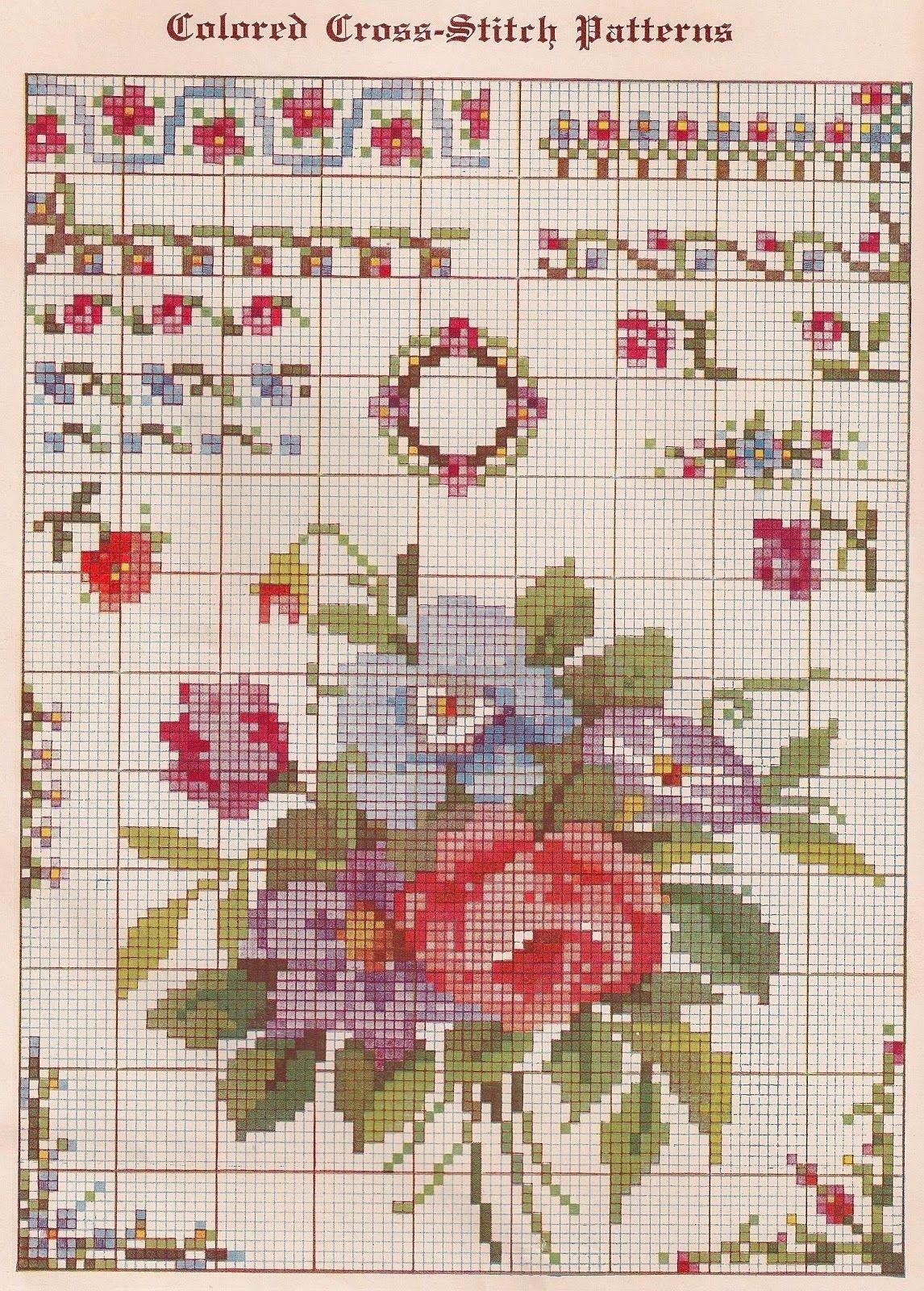 Cross Stitch Patterns Free Printable   Sentimental Baby: Free - Needlepoint Patterns Free Printable