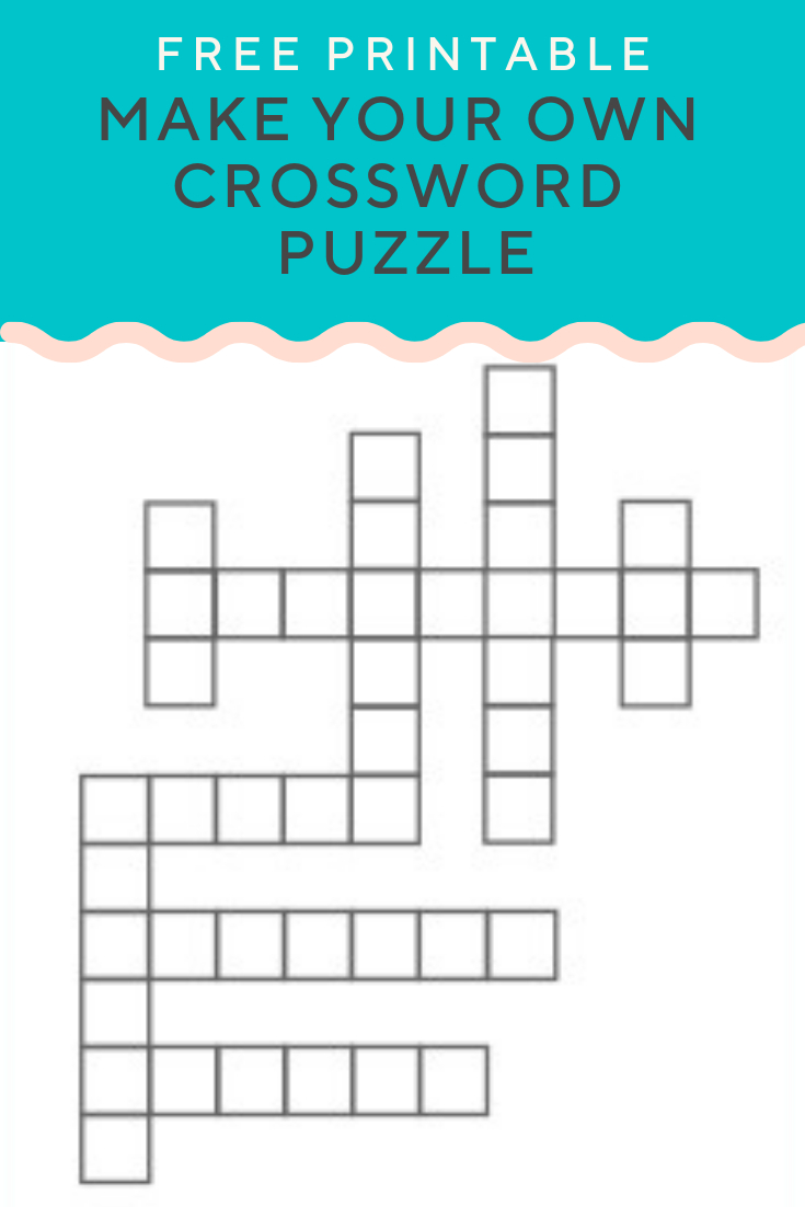 Crossword Puzzle Generator   Create And Print Fully Customizable - Make Your Own Crossword Puzzle Free Printable