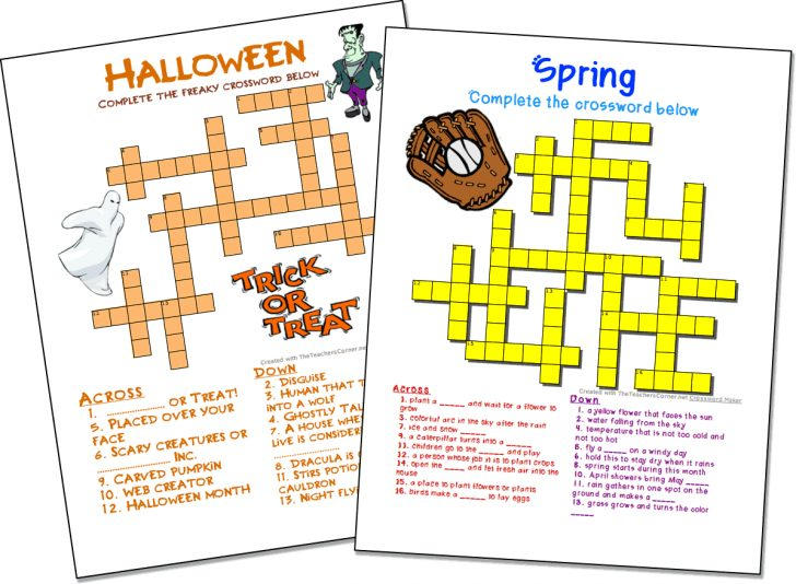 Make Your Own Crossword Puzzle Free Printable