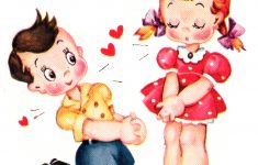 Cute Vintage Valentines Day Clip Art – Free Pretty Things For You – Free Printable Vintage Valentine Clip Art