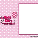 Download Free Perfect Hello Kitty Baby Shower Invitations   Free Printable Hello Kitty Baby Shower Invitations