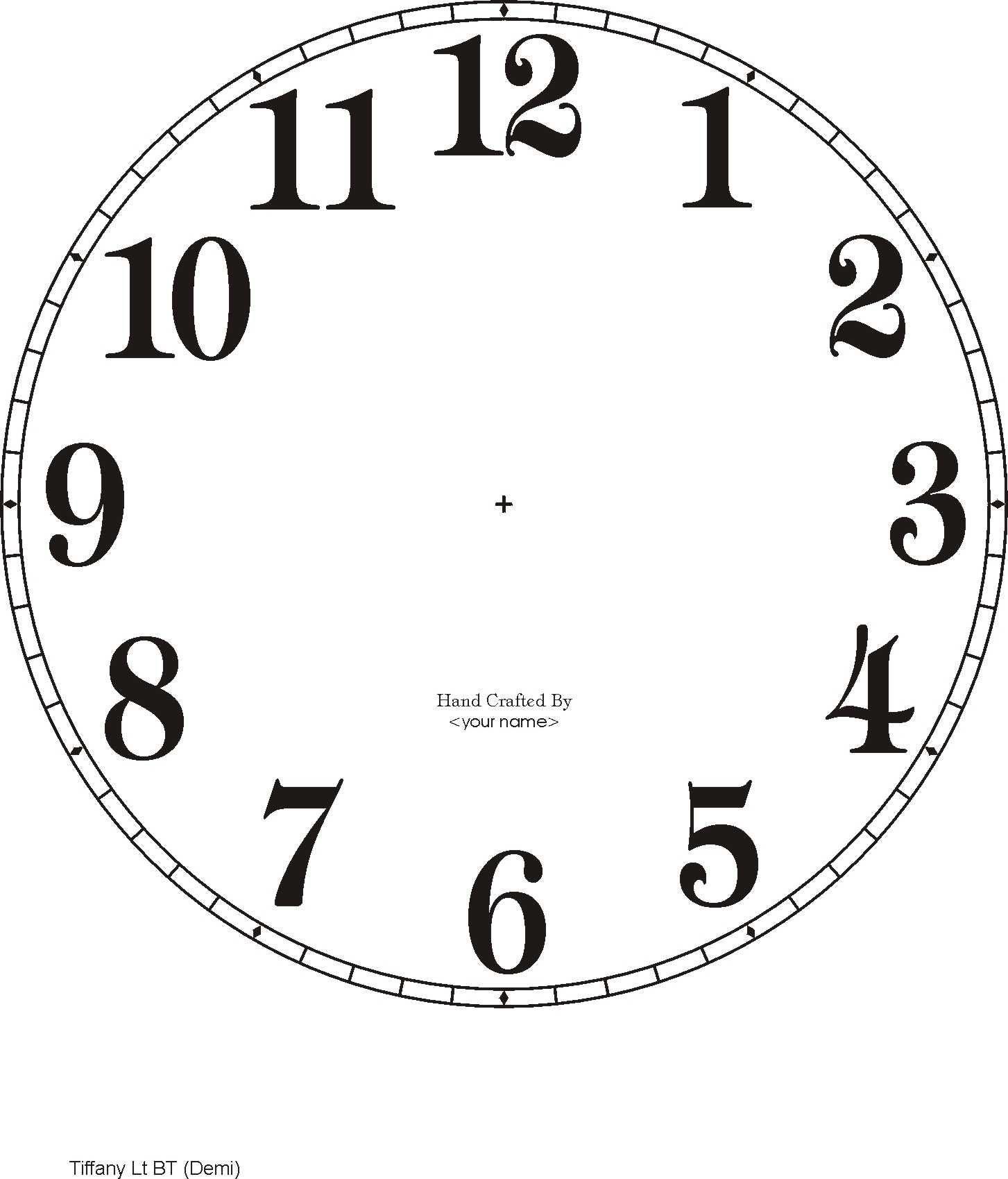 Downloadable Clock Faces | Printables | Clock Face Printable, Diy - Free Printable Clock Faces
