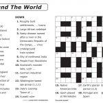Easy Printable Crossword Puzzles | Elder Care & Dementia Care   Free Make Your Own Crosswords Printable
