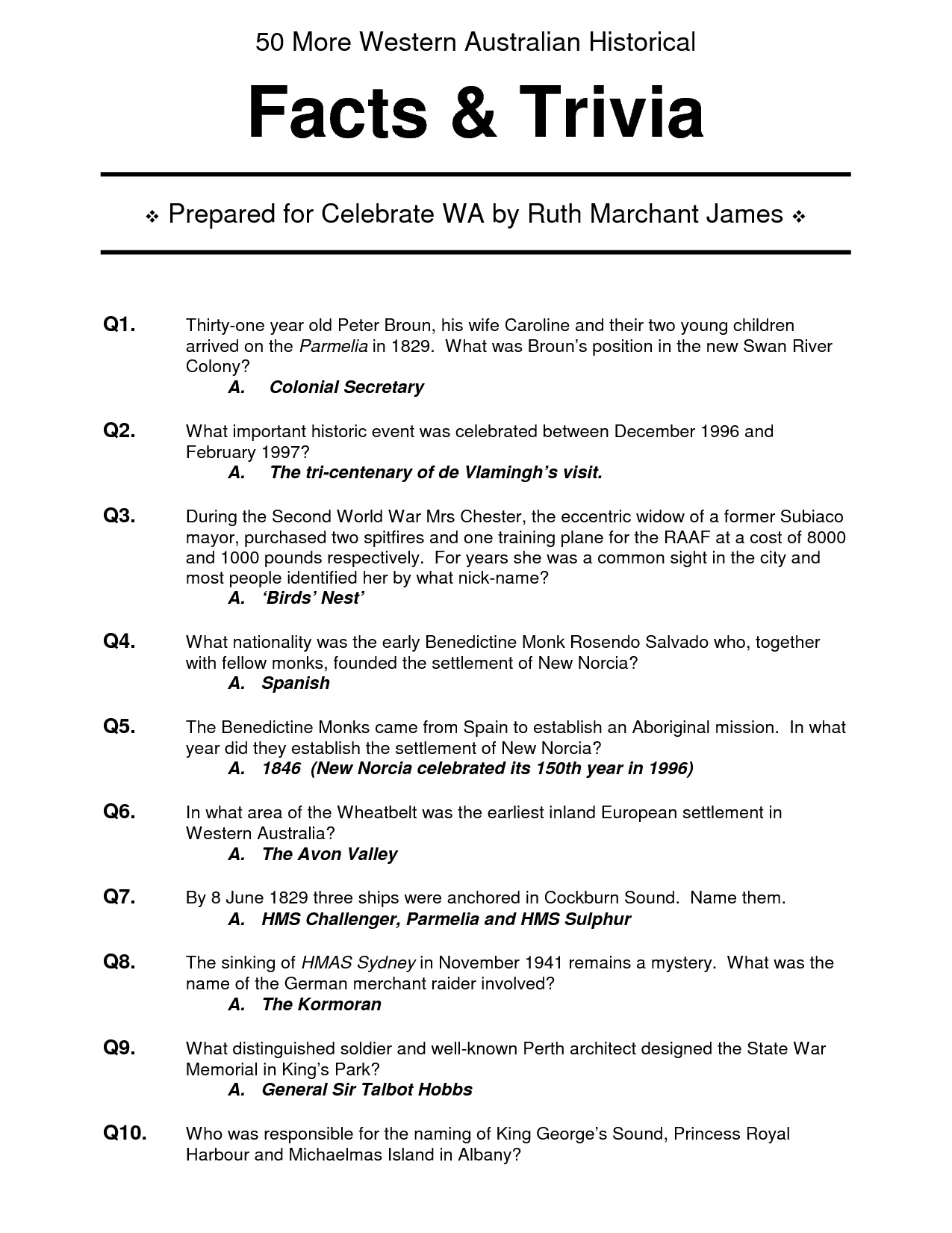Easy Printable Trivia Questions And Answers For Seniors – Printall - Free Printable Trivia Questions For Seniors
