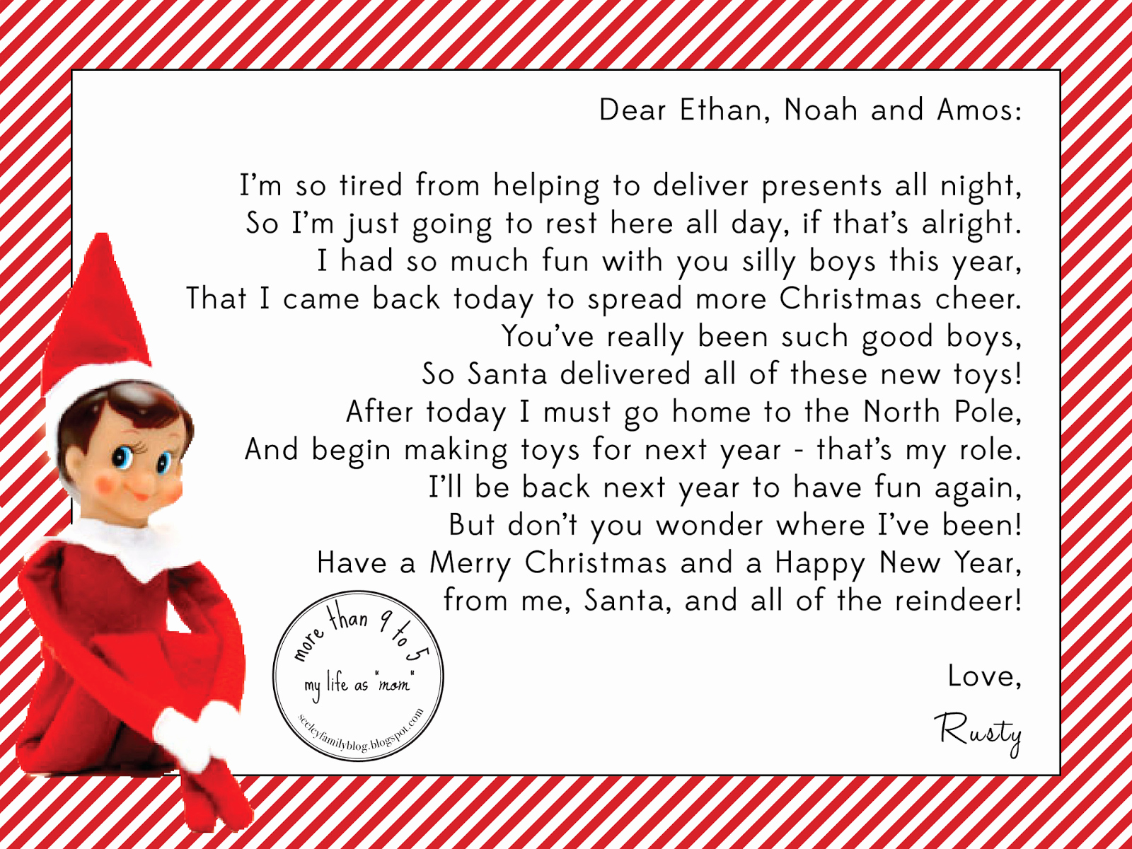 Elf On The Shelf Letterhead 15 Helpful Elf On The Shelf Goodbye - Elf On A Shelf Goodbye Letter Free Printable