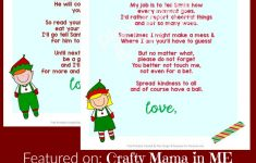 Elf On The Shelf Letters {Free Printables} – Crafty Mama In Me! – Elf On The Shelf Goodbye Letter Free Printable