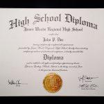Fake+High+School+Diploma+Template | Jeffrey D Brammer | Fake High   Printable Fake Ged Certificate For Free