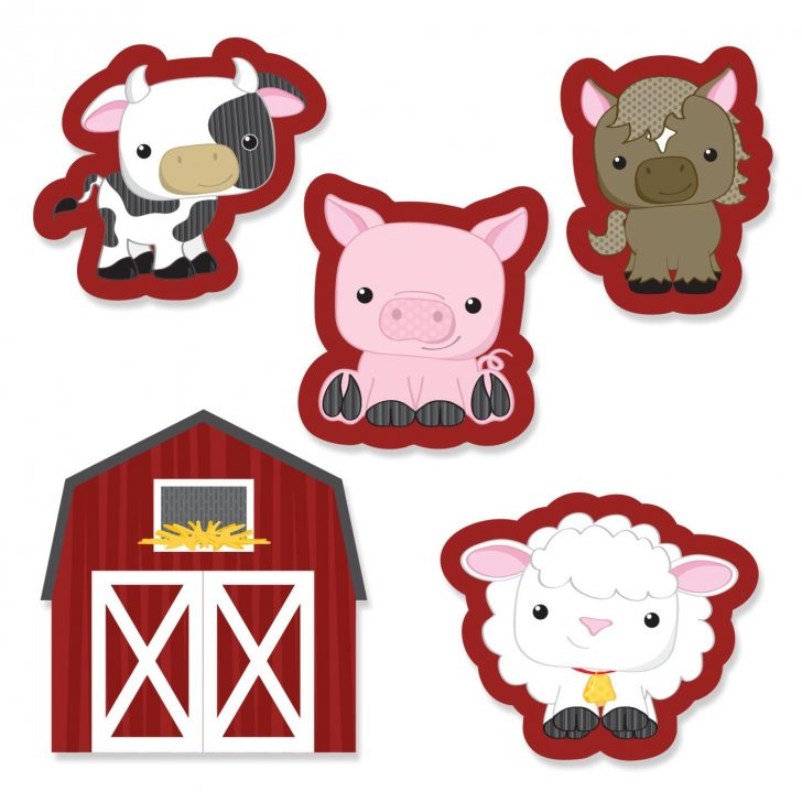 Free Printable Farm Animal Cutouts