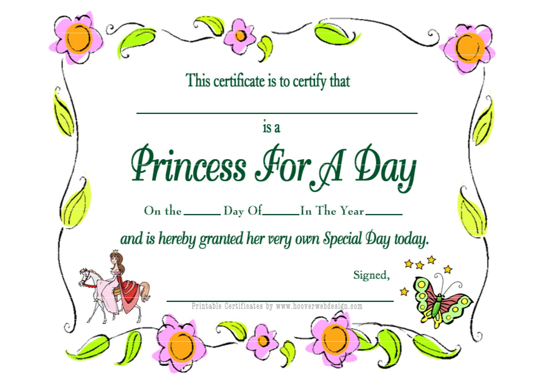 First Birthday Princess Free Printables | Princess For A Day - Www Hooverwebdesign Com Free Printables Printable Receipts