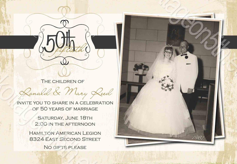 Free 60Th Anniversary Invitation Templates | David And Shirley 50Th - Free Printable 60Th Wedding Anniversary Invitations