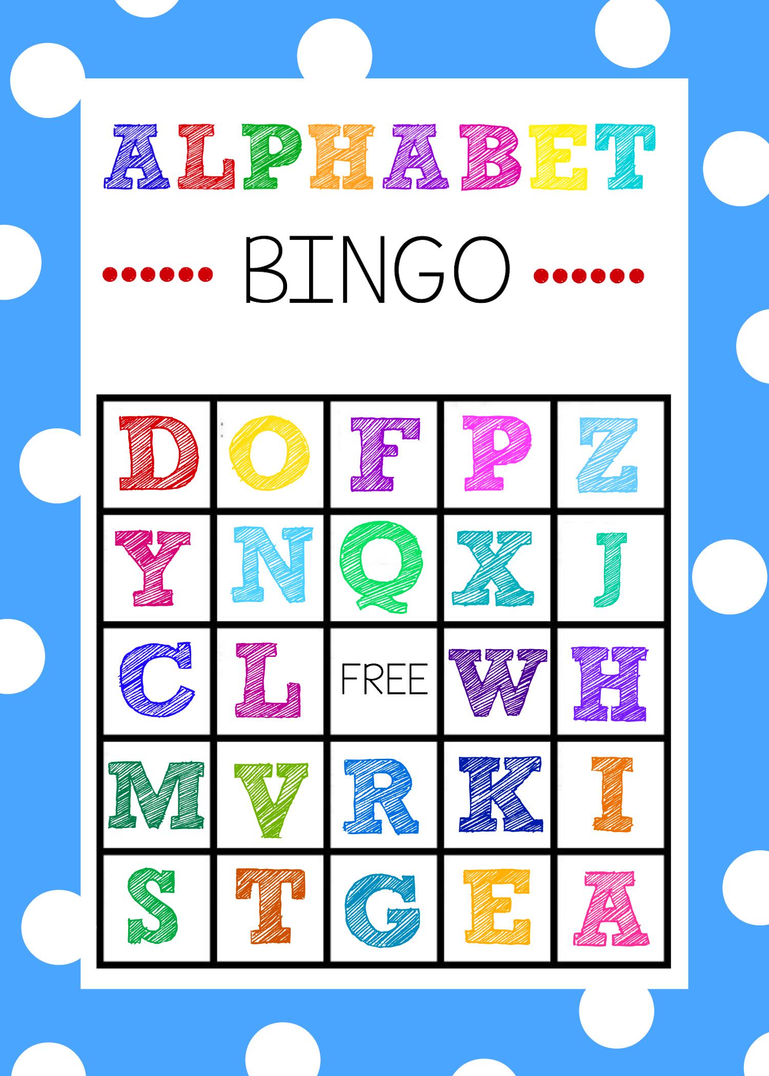 Free Alphabet Bingo Boards. Such A Fun Abc Game For Kids! | Abc - Free Printable Alphabet Games
