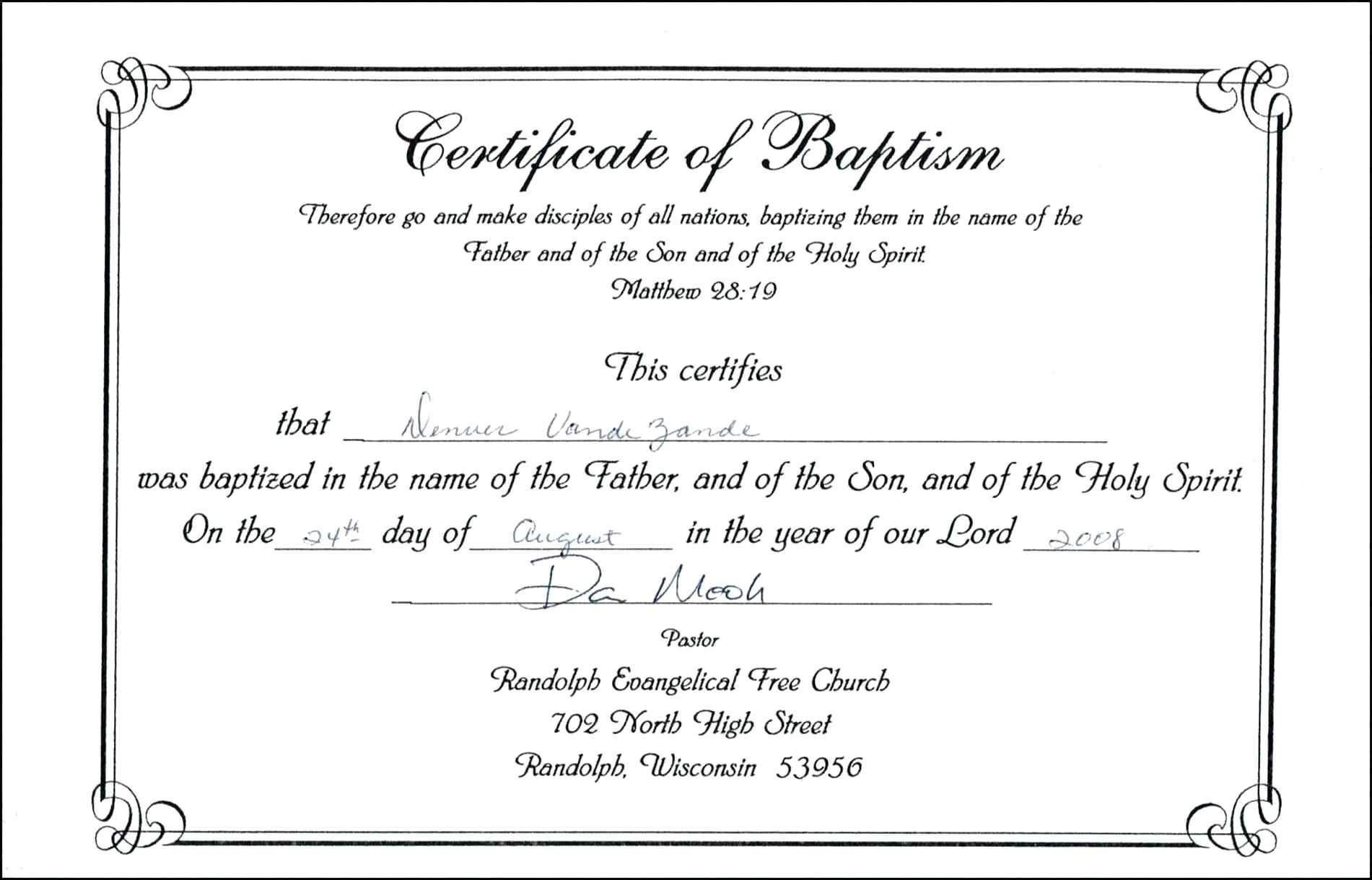 Free Baptismal Certificate Filename | Reinadela Selva - Free Online Printable Baptism Certificates