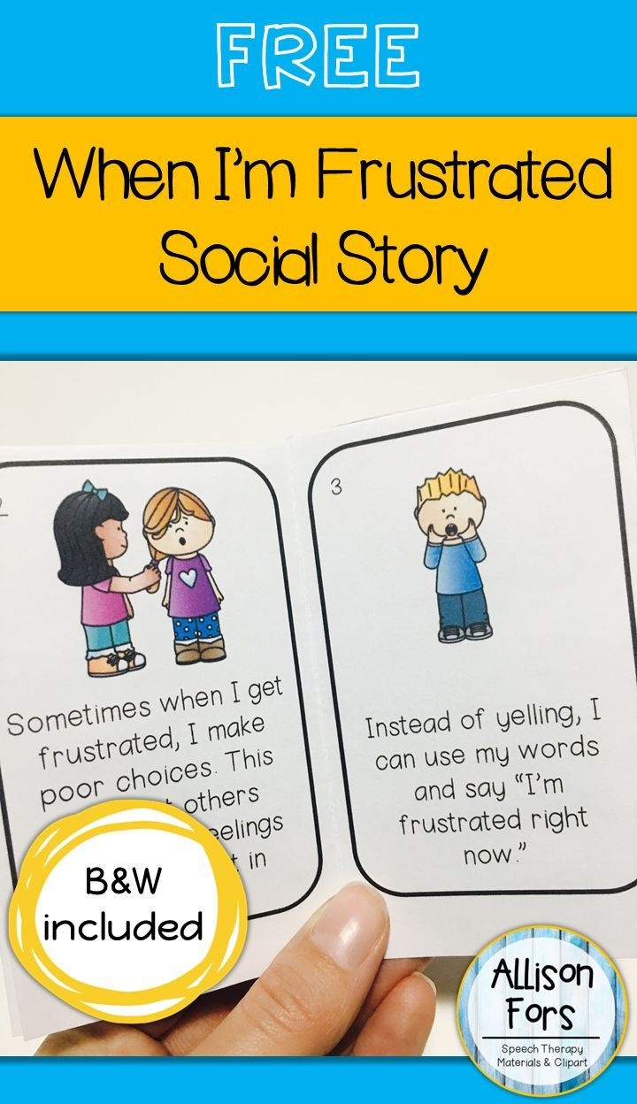Free Behavior Social Story   Language Games Galore   Social Stories - Free Printable Social Stories Making Friends