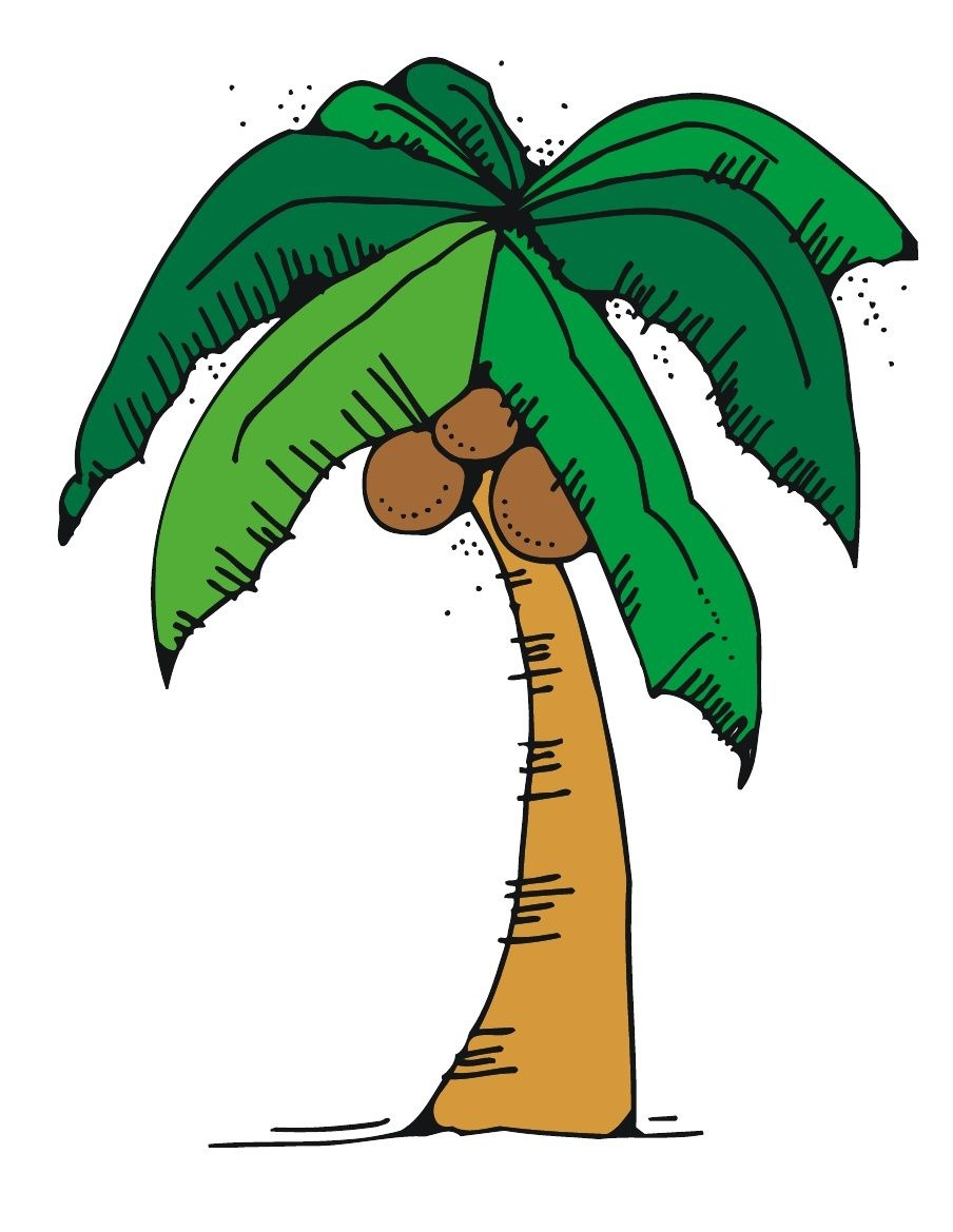 Free Chicka Chicka Boom Boom Tree Template With Letters   Letter - Free Printable Palm Tree Template