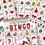 Free Christmas Bingo Game Printable   Free Printable Religious Christmas Games