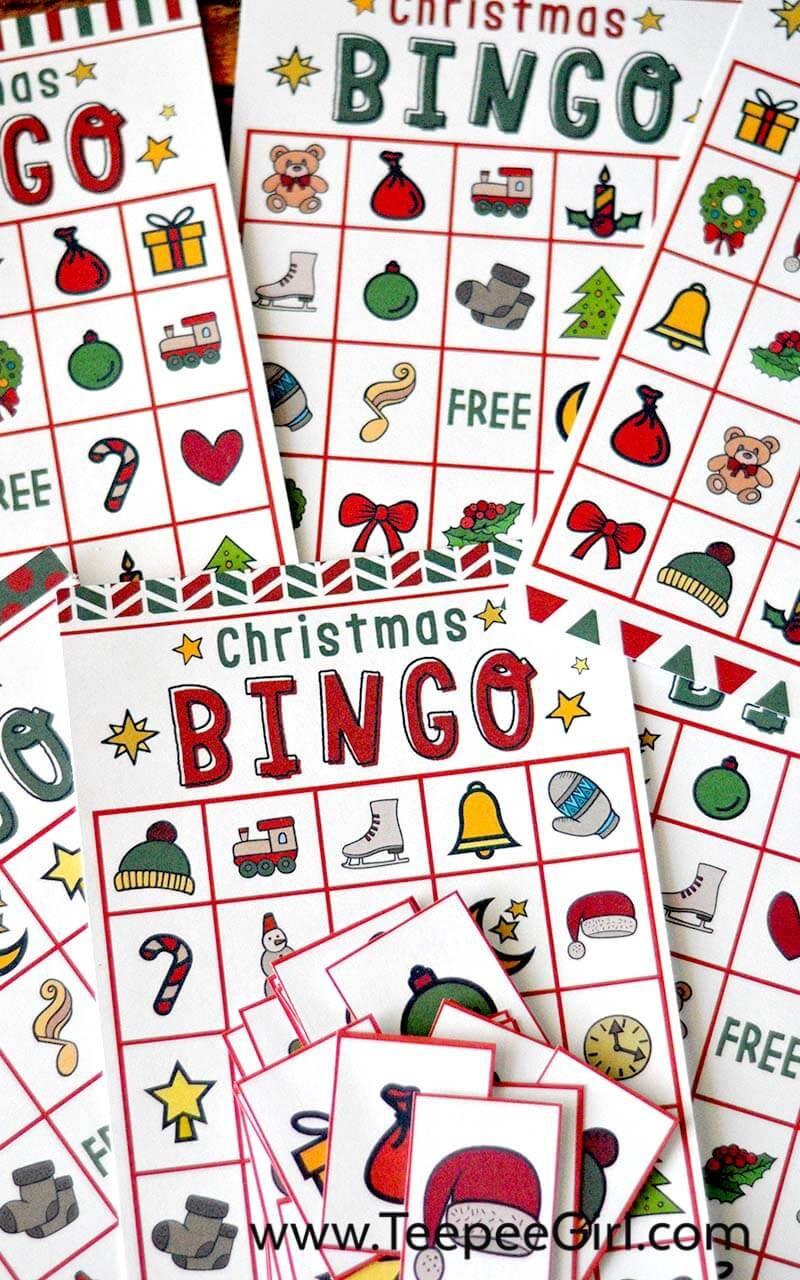 Free Christmas Bingo Game Printable - Free Printable Religious Christmas Games