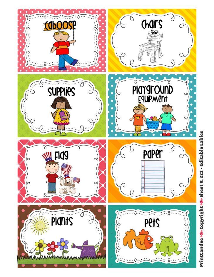 Free Printable Classroom Helper Signs
