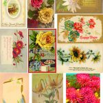 Free Collage Sheetsart And Imagesbykim: Free: Floral Postcards   Free Printable Digital Collage Sheets