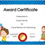 Free Custom Certificates For Kids | Customize Online & Print At Home   Free Printable Honor Roll Certificates Kids
