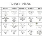 Free Daycare Menus To Print | 8 Best Images Of Printable Preschool - Free Printable Daycare Menus