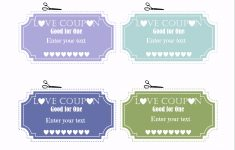 Free Editable Love Coupons For Him Or Her – Free Printable Coupon Templates