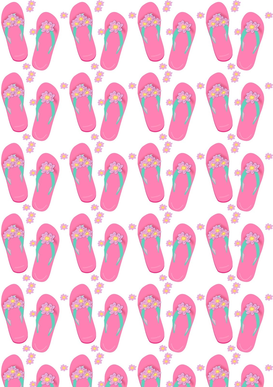 Free Flip Flop Pattern, Download Free Clip Art, Free Clip Art On - Free Printable Flip Flop Pattern