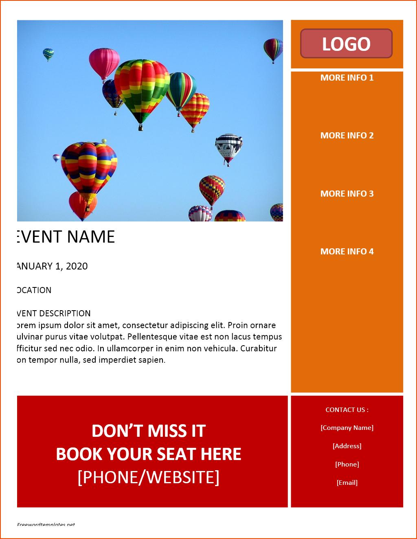Free Flyer Maker Template - Kaza.psstech.co - Free Printable Flyer Maker
