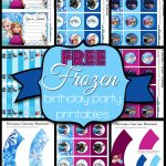 Free Frozen Birthday Party Printables - Frozen Happy Birthday Banner Free Printable