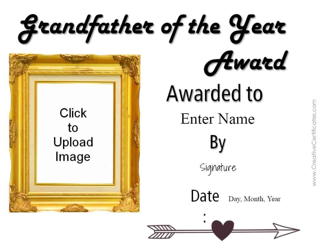 Free Grandparents Day Printables | Customize Online & Print - Grandparents Certificate Free Printable