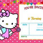 Free Hello Kitty Invitation Templates   Free Printable Birthday   Free Printable Hello Kitty Baby Shower Invitations