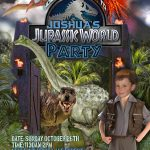 Free Kids Party Invitations – Free Printable Jurassic Park Invitations
